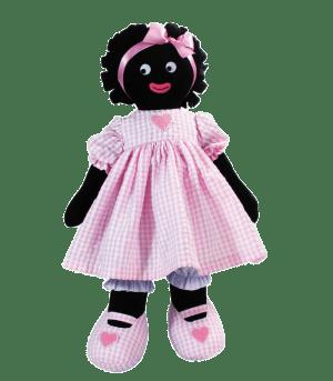 Kate Finn: Heart Pink 41cm Golliwog