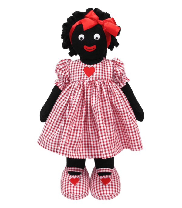 Kate Finn: Heart Red 41cm Golliwog