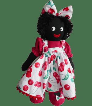 Kate Finn: Cherry 40cm Girl Golliwog