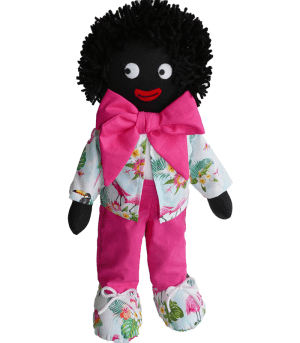Kate Finn: James 40cm Boy Golliwog