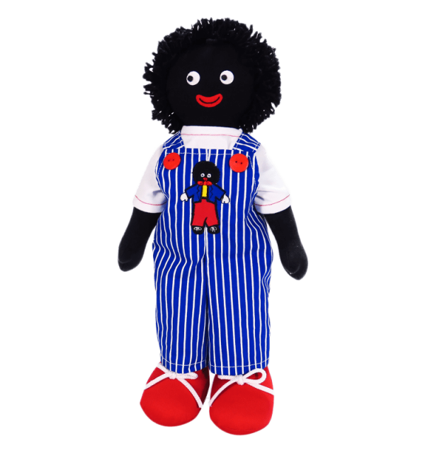 Kate Finn: George Blue 41cm Golliwog