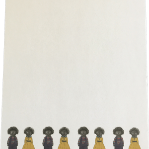 Notepad With A Row Of Golliwogs!