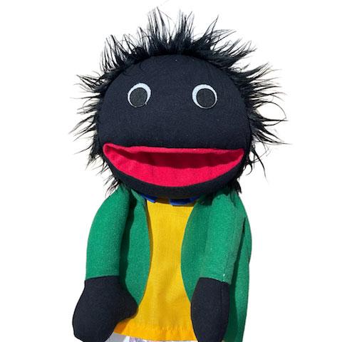 Golliwog Puppet