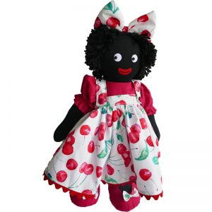 Kate Finn: Cherry 40cm Girl Golliwog