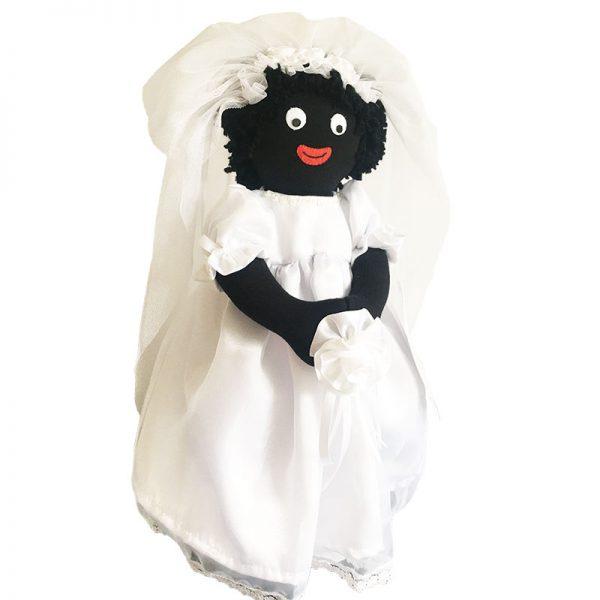 Bride 40cm Golliwog
