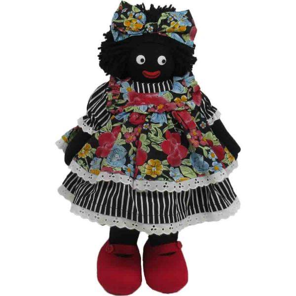 """Kate Finn: Bonnie Doll 14"""" Golliwog"""