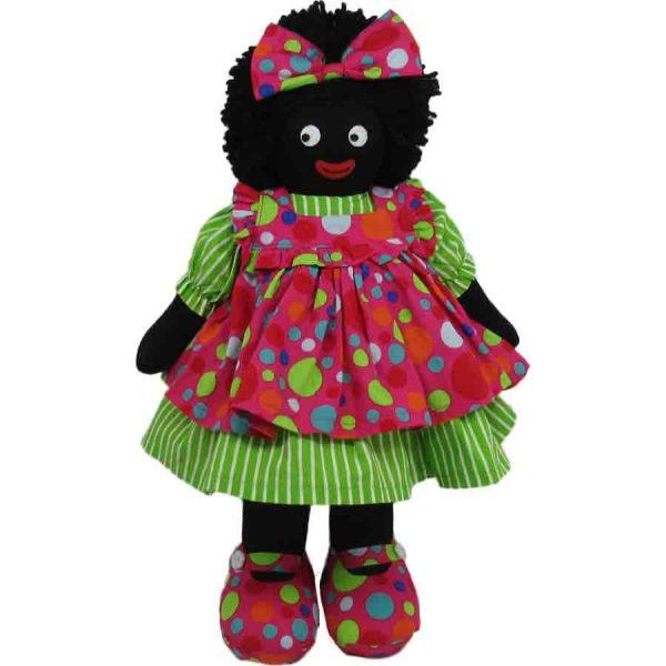 "Kate Finn: Dottie Doll 14"" Golliwog"