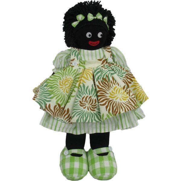 """Kate Finn: Gypsy Doll 14"""" Golliwog"""