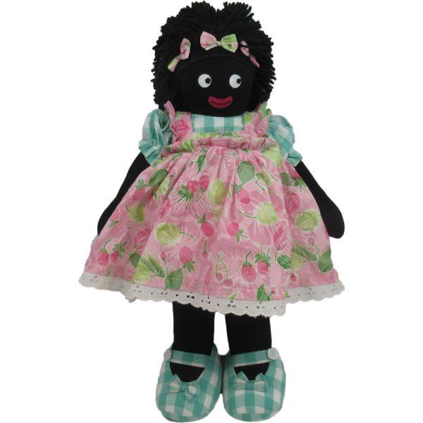 "Kate Finn: Marsmallow Doll 14"" Golliwog"