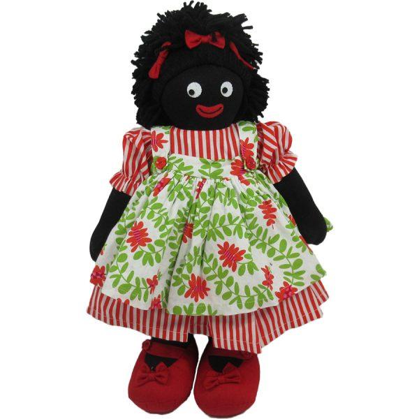 """Kate Finn: Chrissy Doll 14"""" Golliwog"""