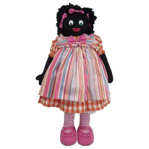 Kate Finn: Fizzy Doll 59cm Golliwog