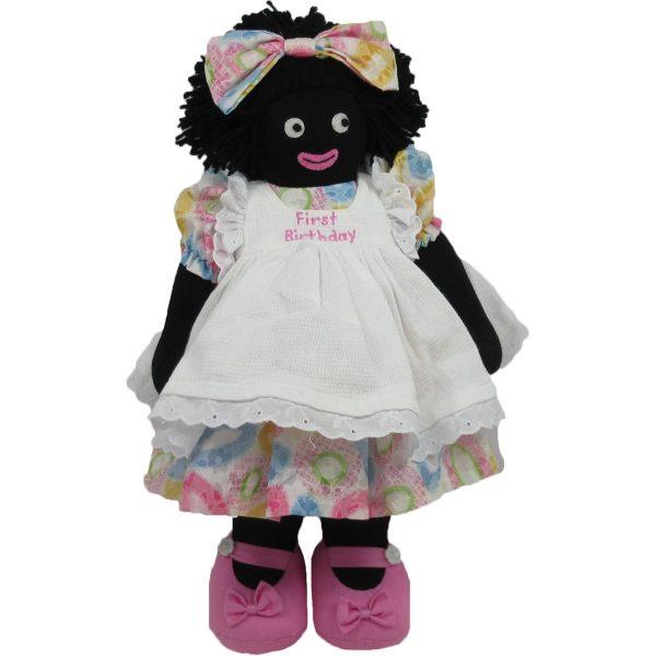 """Kate Finn: Doll 14"""" Golliwog"""